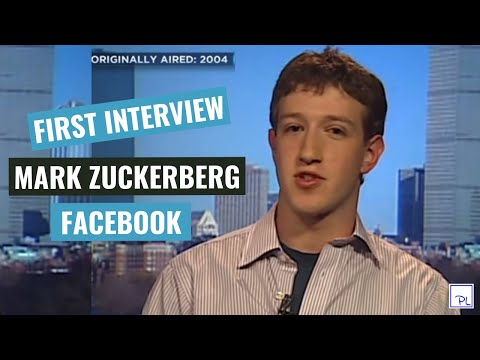 The Facebook - Mark Zuckerberg first interview (2004)