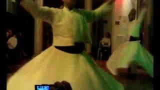 Turkish twirling meditation