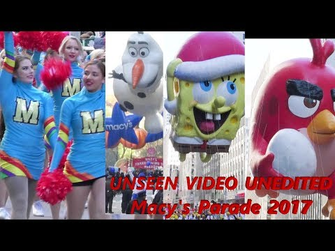 Macy's thanksgiving day parade 2017 in FULL UNEDITED