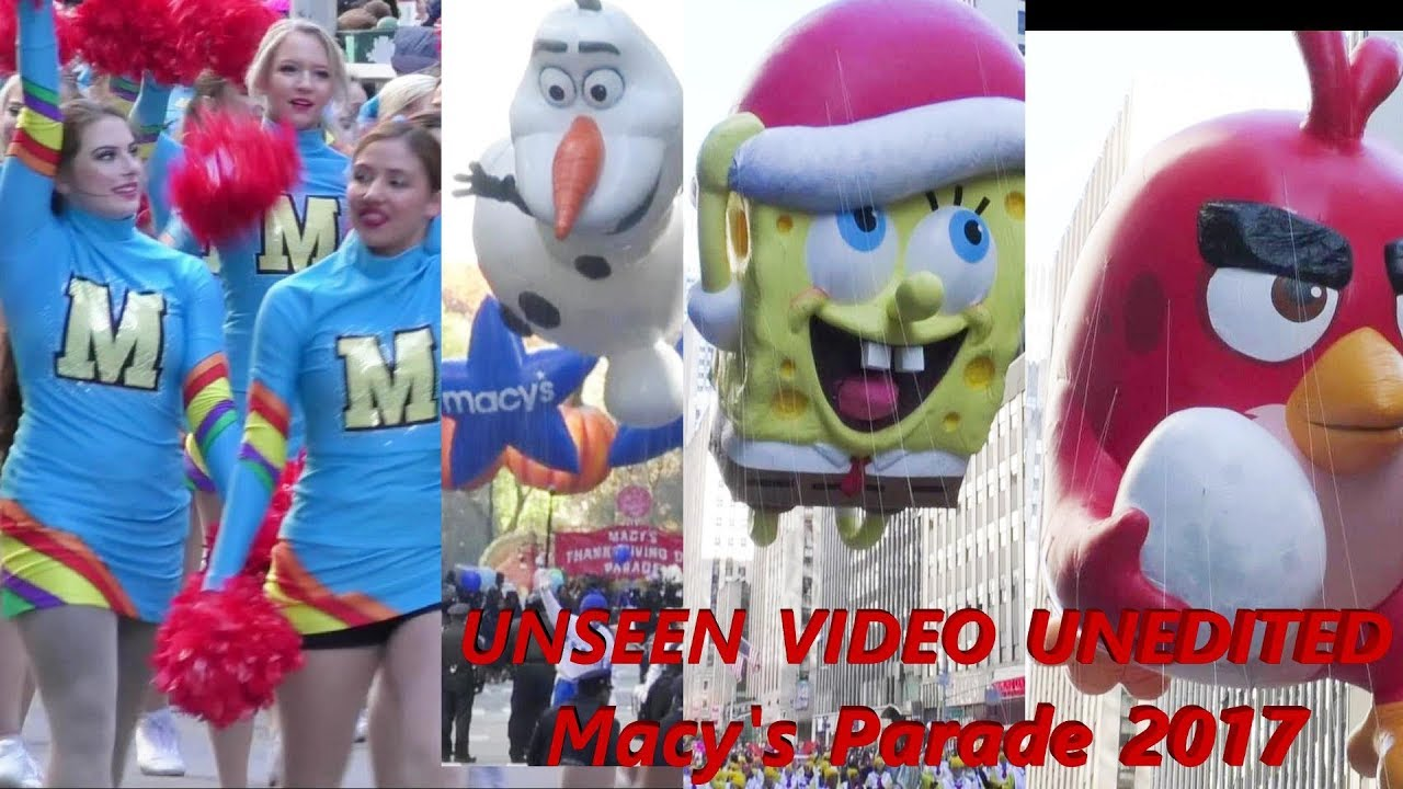 Download Macy's thanksgiving day parade 2017  FULL UNEDITED video