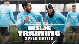 💨 SPEED DRILLS | Watch Ramos, Hazard, Benzema & co. get ready!