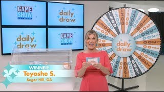 Daily Draw Winner | May 21, 2019 | Game Show Network