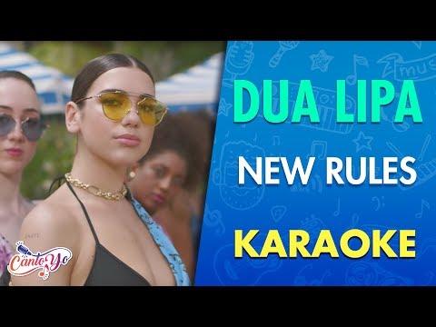Dua Lipa - New Rules (Karaoke) | CantoYo