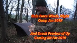 Night camp with sneak peak of kit to be used in upcoming videos. An...