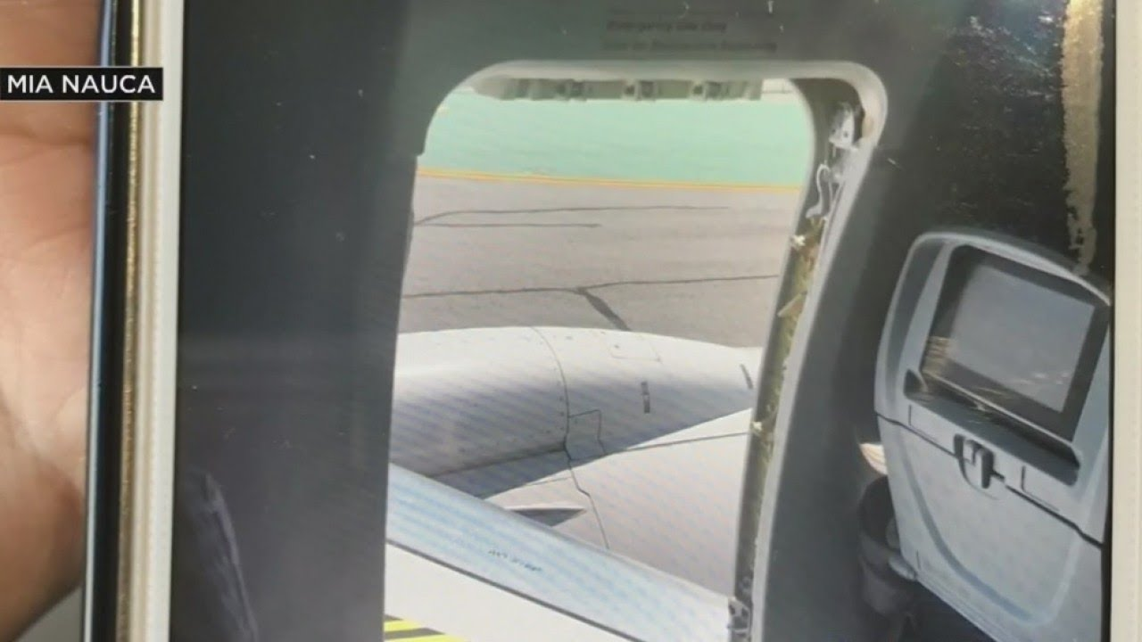 Teen Jumps Out Of Plane Emergency Door & Teen Jumps Out Of Plane Emergency Door - YouTube Pezcame.Com