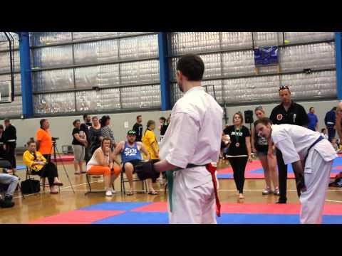 Mark Niven's Fight at WKO Seishin Cup