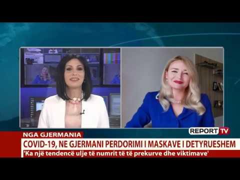 Aurora Meta Dollenberg Mjeket shqiptare ne Gjermani COVID  19 Mbajtjta e maskës e detyrueshme