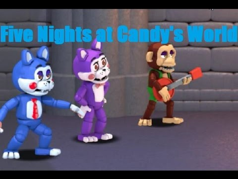 Five Nights at Candy's World: The Adventure (Gameplay)