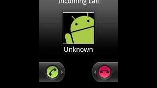 call from unknown number