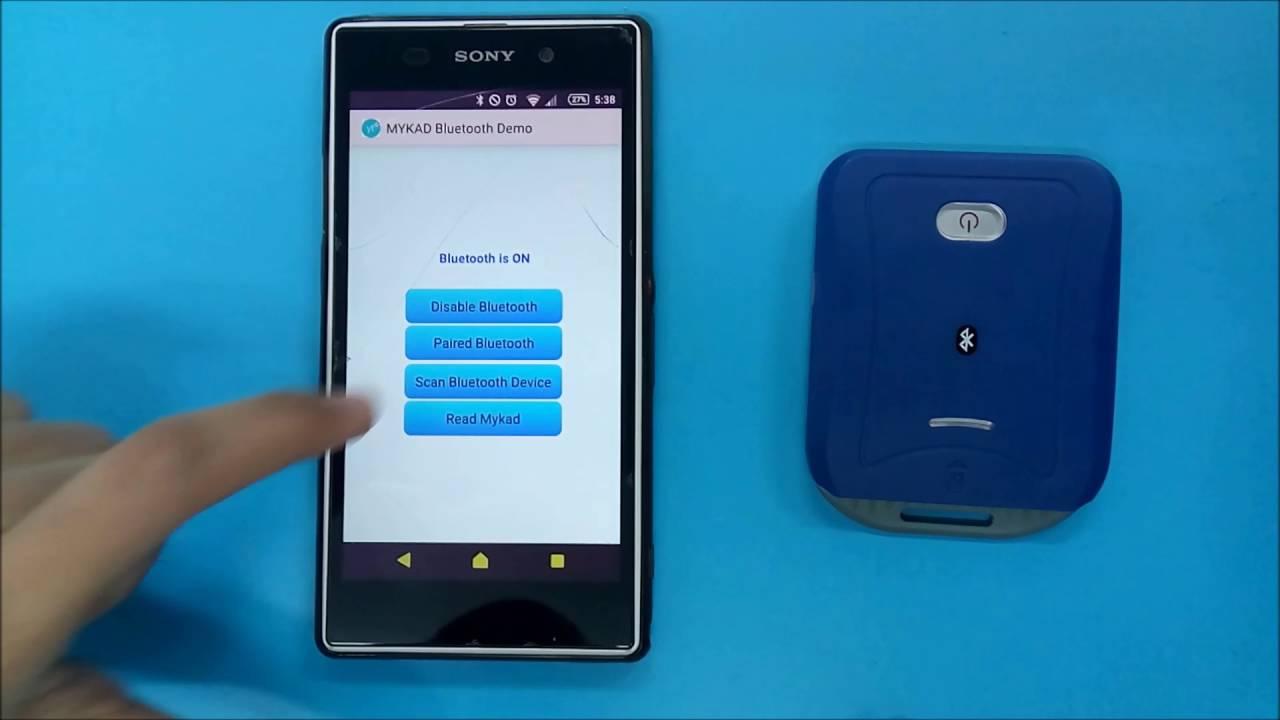 MYKAD - Bluetooth Smartcard Reader