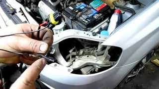 Установка противотуманных фар на Шевроле Лачетти: видео-инструкция по монтажу своими руками, замена лампы, фото
