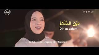 Video DEEN ASSALAM -  NISSA SABYAN Lirik & Terjemahan download MP3, 3GP, MP4, WEBM, AVI, FLV Agustus 2018