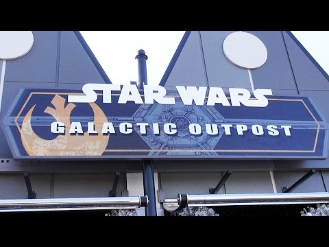 Tour of Star Wars Galactic Outpost Shop at Disney Springs West Side (Formerly D-Street)