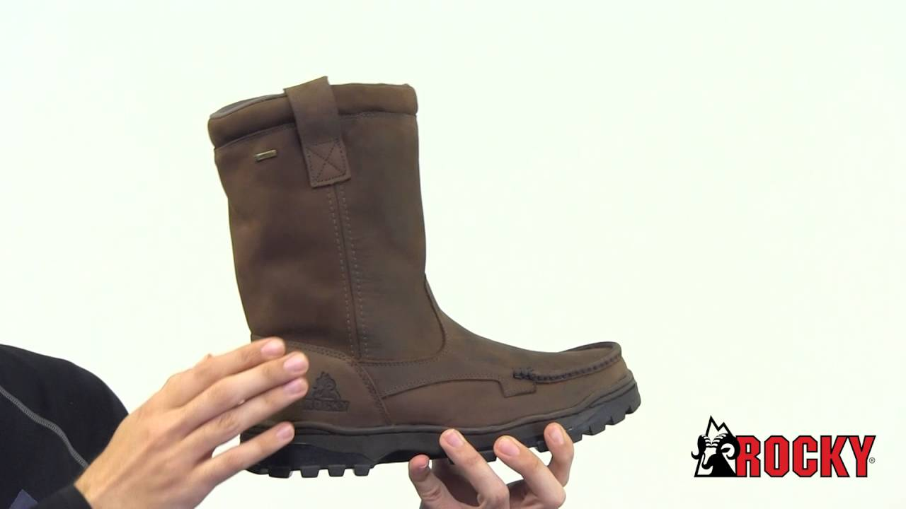 autumn shoes purchase cheap good quality Rocky Outback Wellington Style# - RKS0255 - YouTube