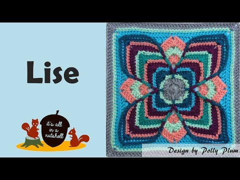 Lise – Crochet Square
