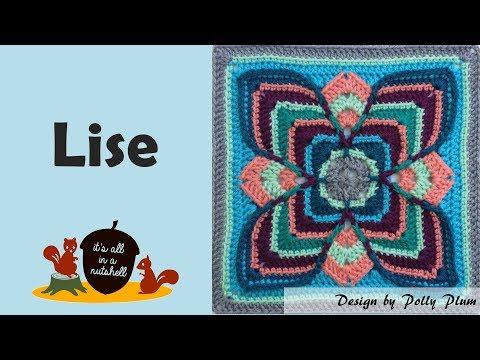 Lise - Crochet Square