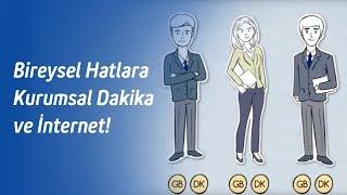 İşten Paketler: Bireysel Hatlara Kurumsal Dakika ve İnternet!