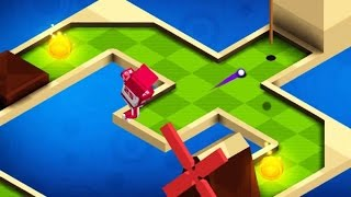 MINI GOLF BUDDIES GAME LEVEL 1-25 Walkthrough | Golf Games