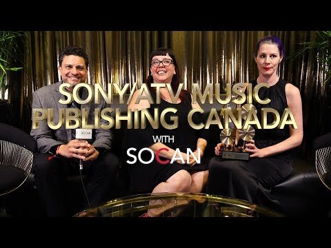 Sony/ATV Music Publishing Canada with SOCAN Mp3