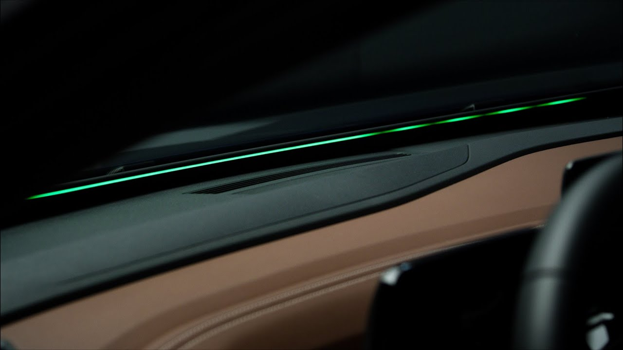 The Car Communicating with light - Volkswagen ID.4