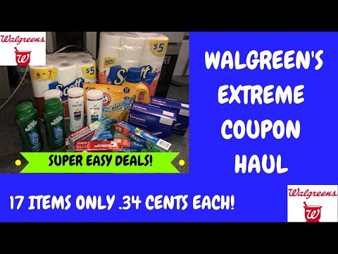 Walgreens Extreme Coupon Haul Deals Starting 5/5/19~Super Easy Deals Grab 17 Items for Only 34 Cents