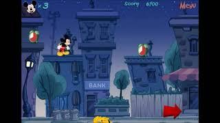 Микки Маус битва с будильниками флеш игра онлайн