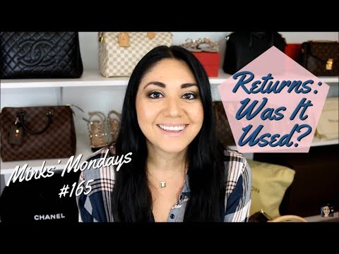 Minks' Mondays #165 |  Returns: Was it Used??