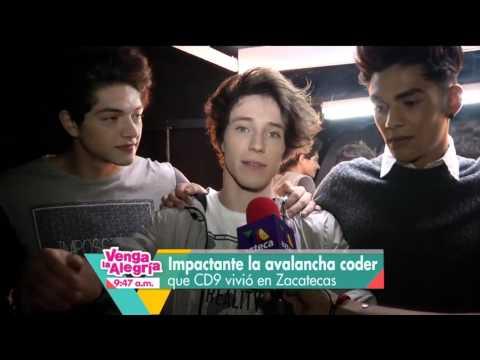 ¡CD9 Todo Un Exito En Colombia! - Nota De Venga La Alegria