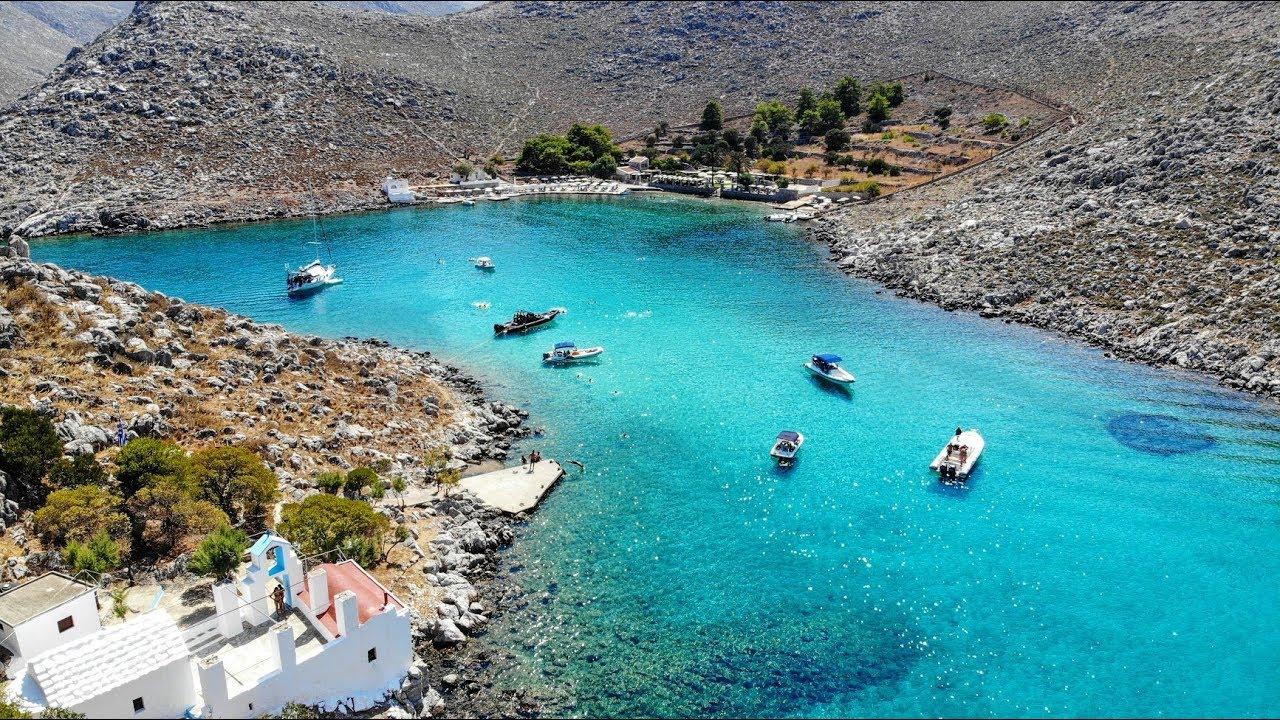 Αγ. Μαρίνα Σύμη - St Marina Symi island - YouTube