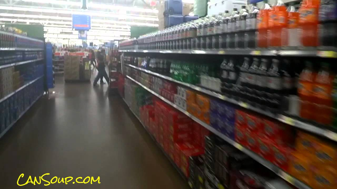 Vw Of America >> Cola Soft Drinks Soda Aisle in America Grocery Store Pop Soft Drink - YouTube