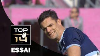 TOP 14 – Stade Français - Racing 92 : 16-34 – Essai Dan CARTER (RAC) – J18 – saison 2015-2016