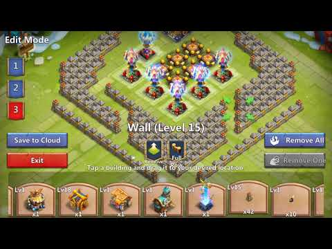 Castle Clash TH 22/23 Base Design HBM AA+