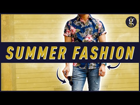 11 SUMMER ESSENTIALS For Men [Hot Weather Fashion + Style 2019]