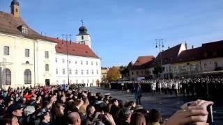 Jurământ Academia Forțelor Terestre Sibiu 24 Octombrie 2016