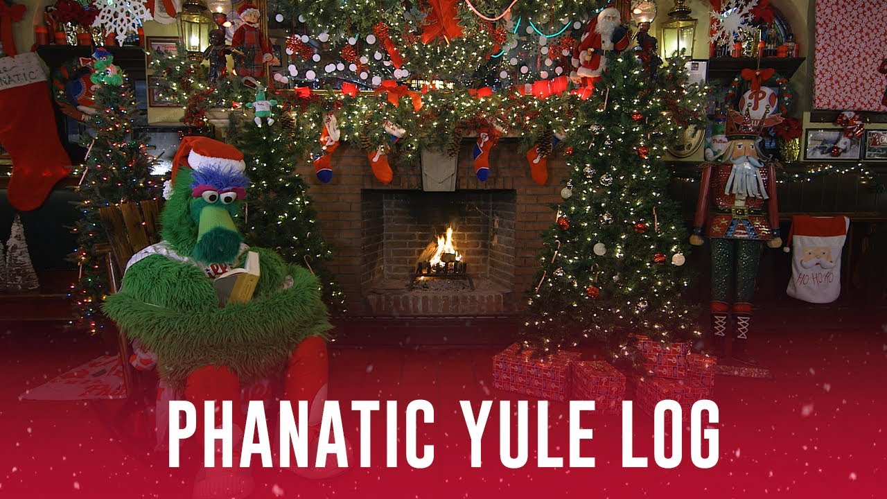 This 4 Hour Phillie Phanatic Yule Log Video Is The Perfect Holiday Treat Rsn