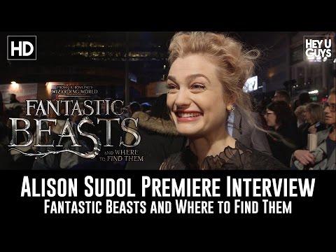 Fantastic Beasts Premiere - Alison Sudol Interview