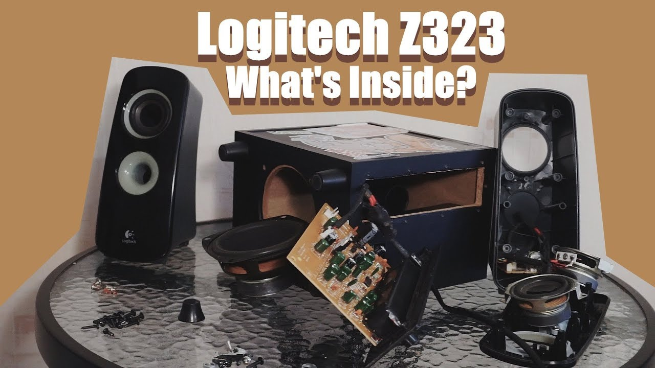 5cd4f072ca6 Look inside Logitech Z323 speaker - What's Inside? - YouTube