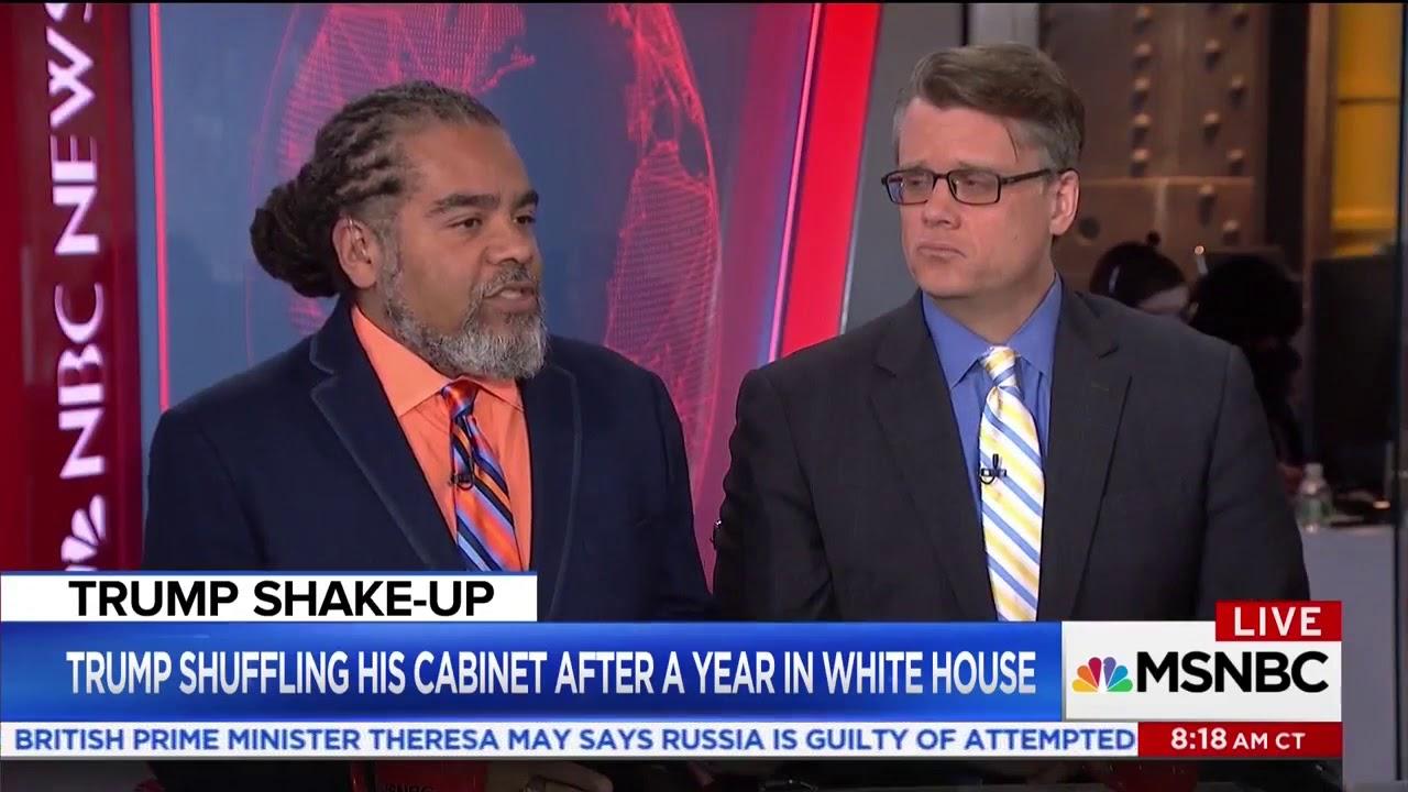 Mark Thompson on Rex Tillerson's Firing - Live with Stephanie Ruhle, MSNBC