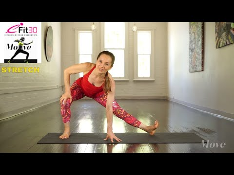 Lower body stretch - Move 123 - Claire