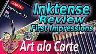 Derwent Inktense Pencil Review   What magic is this