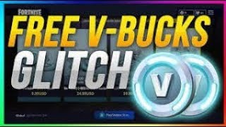 FORTNITE - France INCROYABLE V-BUCKS GLITCH ! [PATCHED]