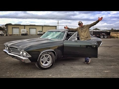 Chevrolet Chevelle 1968 SS !! Машина мечты! [[OffTheRanch на русском]]