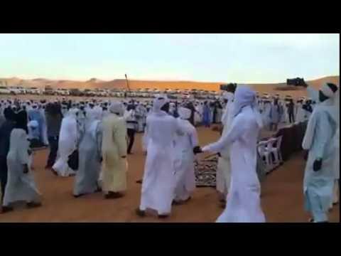 Cérémonie extraordinaire à Zouar au Tibesti convoqué par le ROI des Toubous sa majesté  Erzeï Barka.