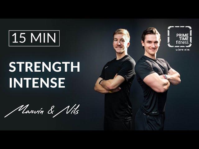 Strength Intense mit Nils & Marvin - Muskelaufbau Training - Kraft