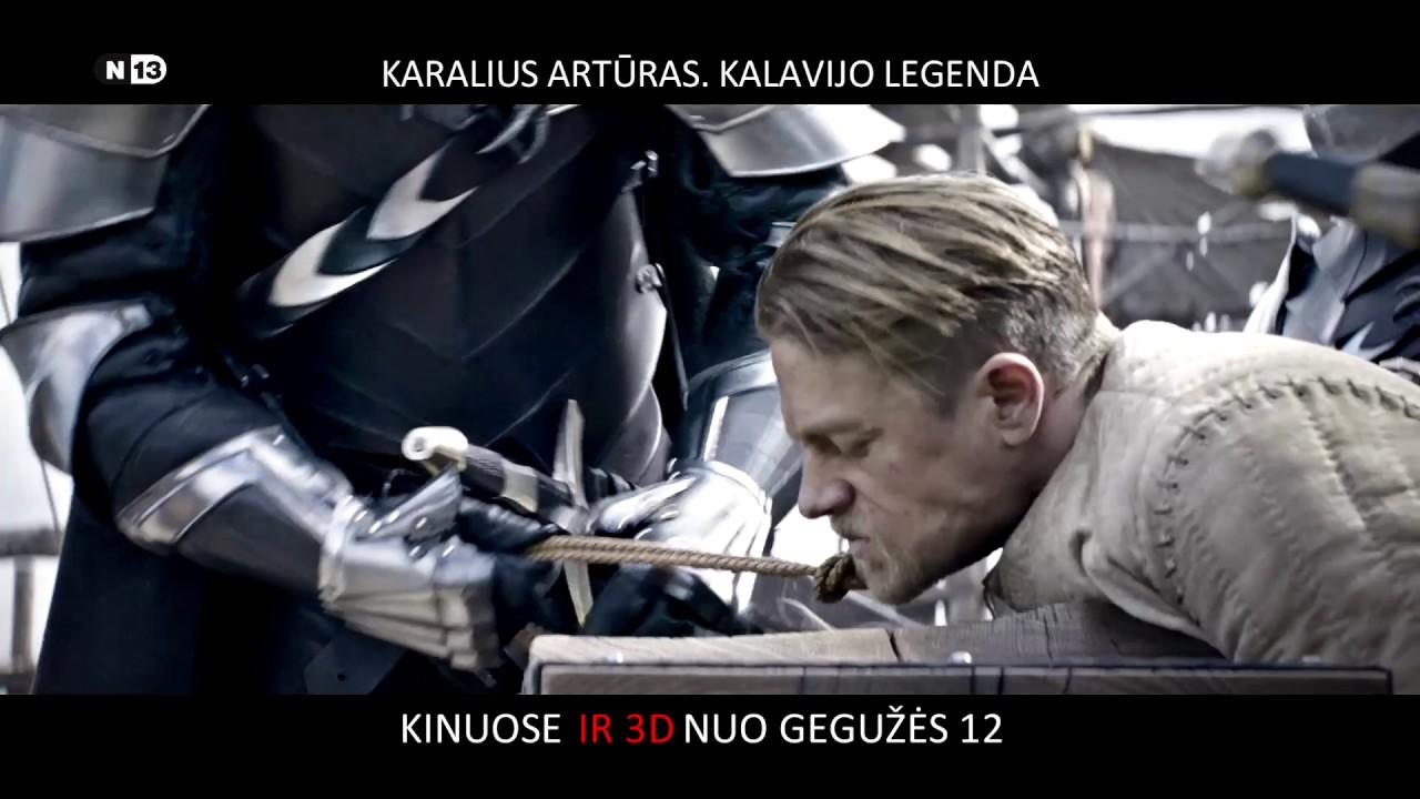 KARALIUS ARTŪRAS. KALAVIJO LEGENDA- įspūdinga viduramžių legenda TIK KINUOSE nuo gegužės 12