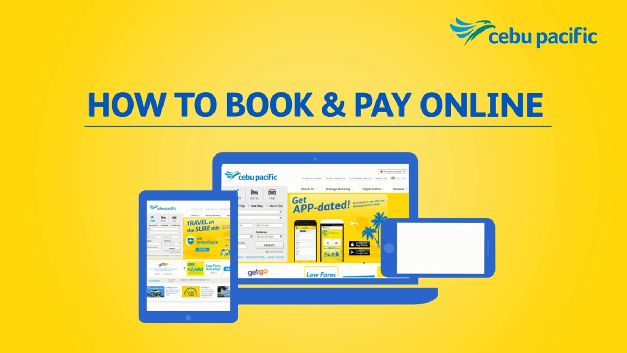 Cebu Pacific's #CEBHowTo: How To Book and Pay Online