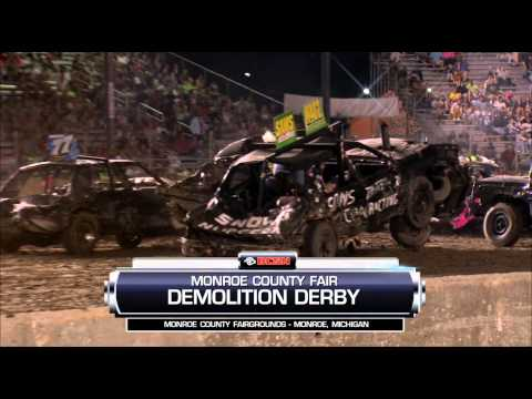 Demolition Derby @ Monroe County Fairgrounds 8-4-2015-1