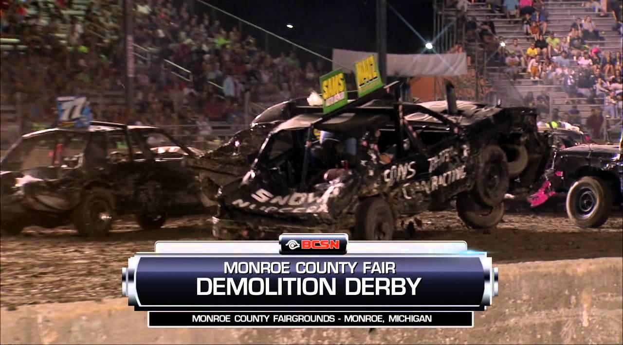 Hard Hitting Demolition Derby. Washington PA Fair Grounds ... |Demolition Derby Fair Grounds