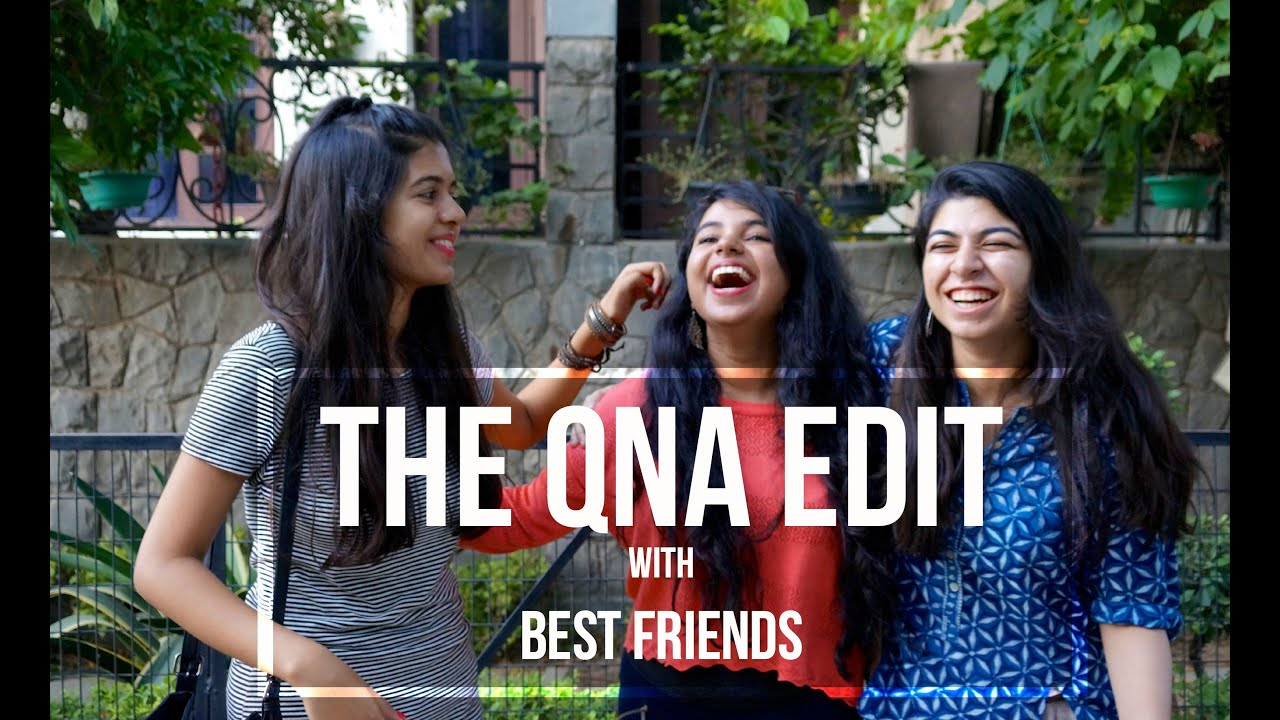GIVEAWAY! | QnA with Best Friends! #asksejal