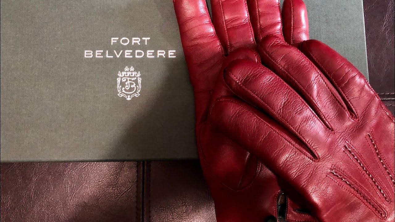 6e35827b371aa Fort Belvedere Burgundy Men's Dress Gloves Unboxing & Overview - YouTube